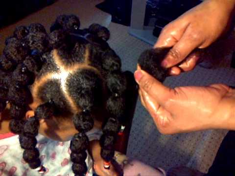 How To Easy Afro Caribbean Kids Hair Youtube
