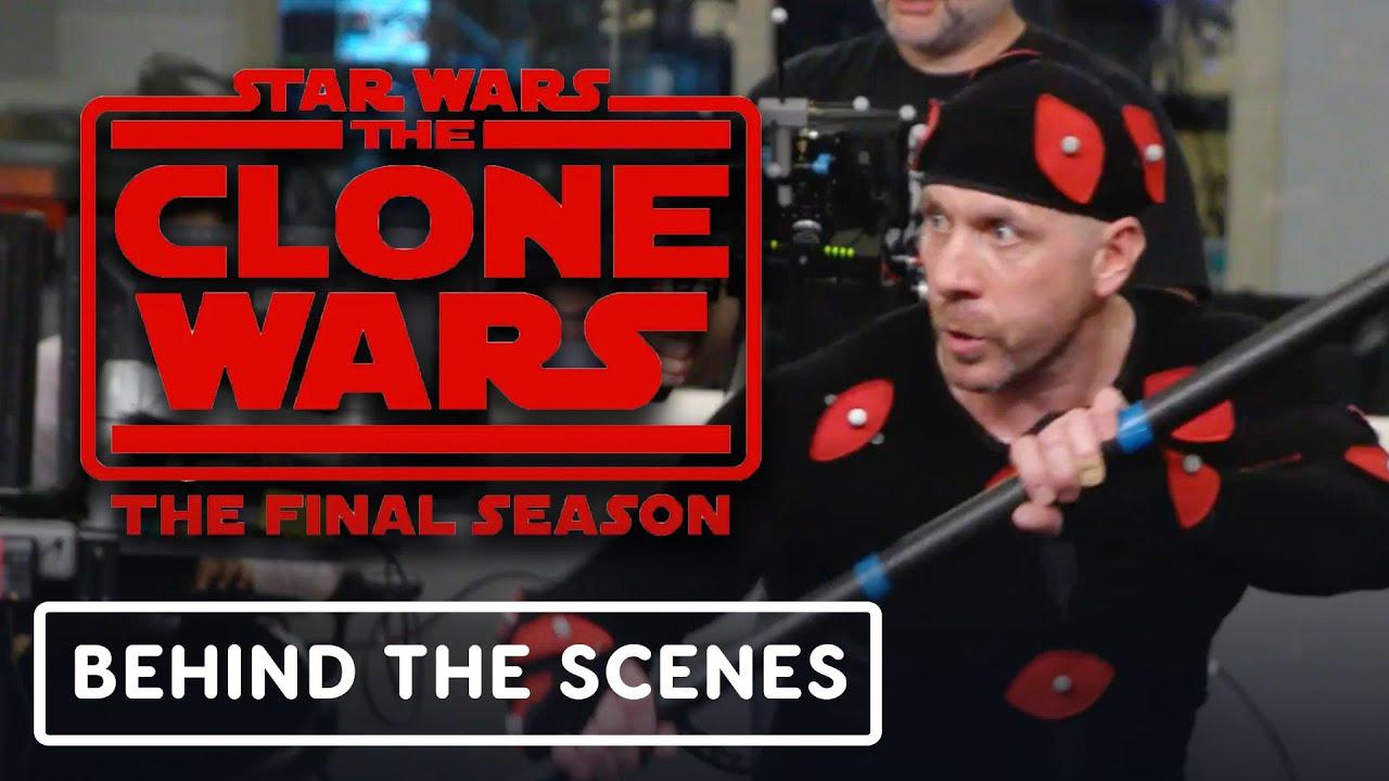 Star Wars The Clone Wars: Ray Park como Darth Maul - Oficial detrás de escena + vídeo