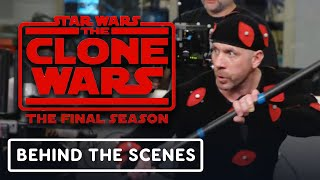 Star Wars The Clone Wars: Ray Park as Darth Maul - Official Behind the Scenes