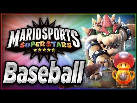 Mario Sports Superstars - Part 3 | Baseball - Mushroom Cup!