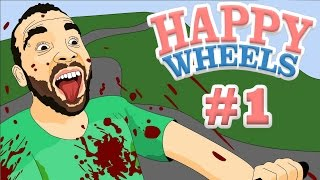 Happy Wheels #1 - Рыбий Баскетбол