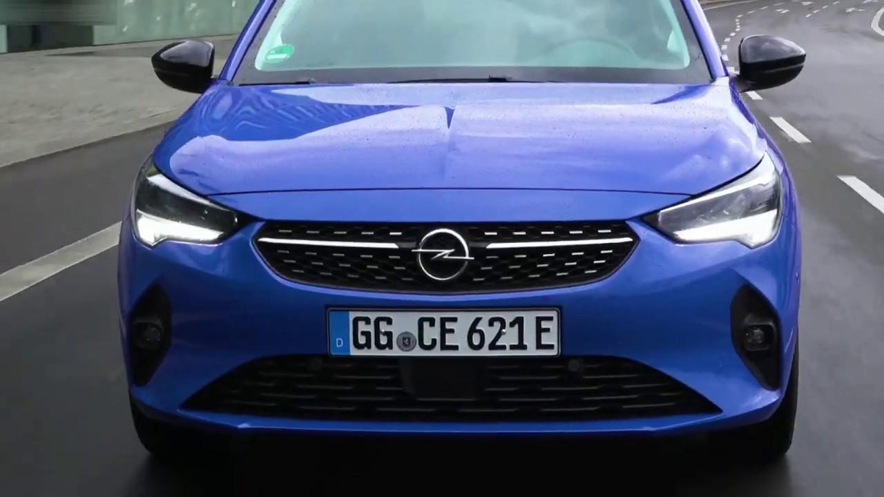 2020 Opel Corsa-e | Driving Sense (Nautic Blue) - YouTube