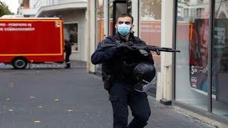 الصور الأولية من عملية الطعن في نيس جنوب فرنسا