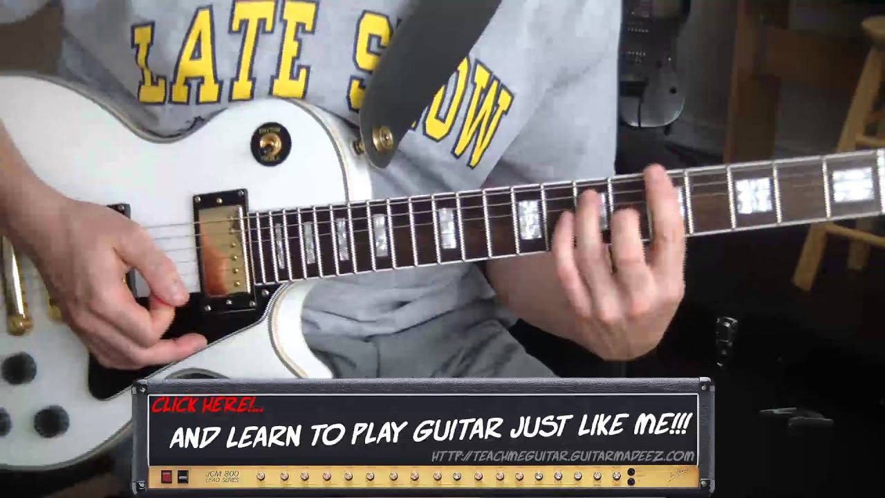 Led Zeppelin Communication Breakdown Guitar Lesson Youtube