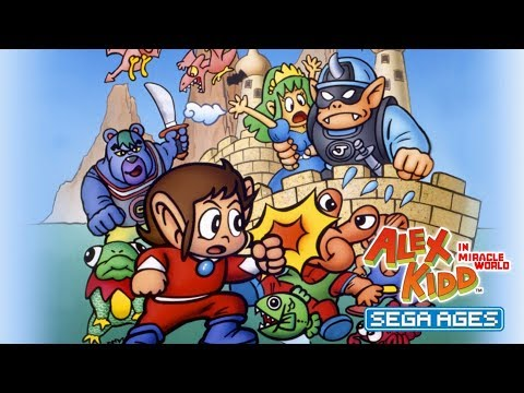SEGA Ages Alex Kidd in Miracle World (Switch) First 18 Minutes on Nintendo Switch - First Look