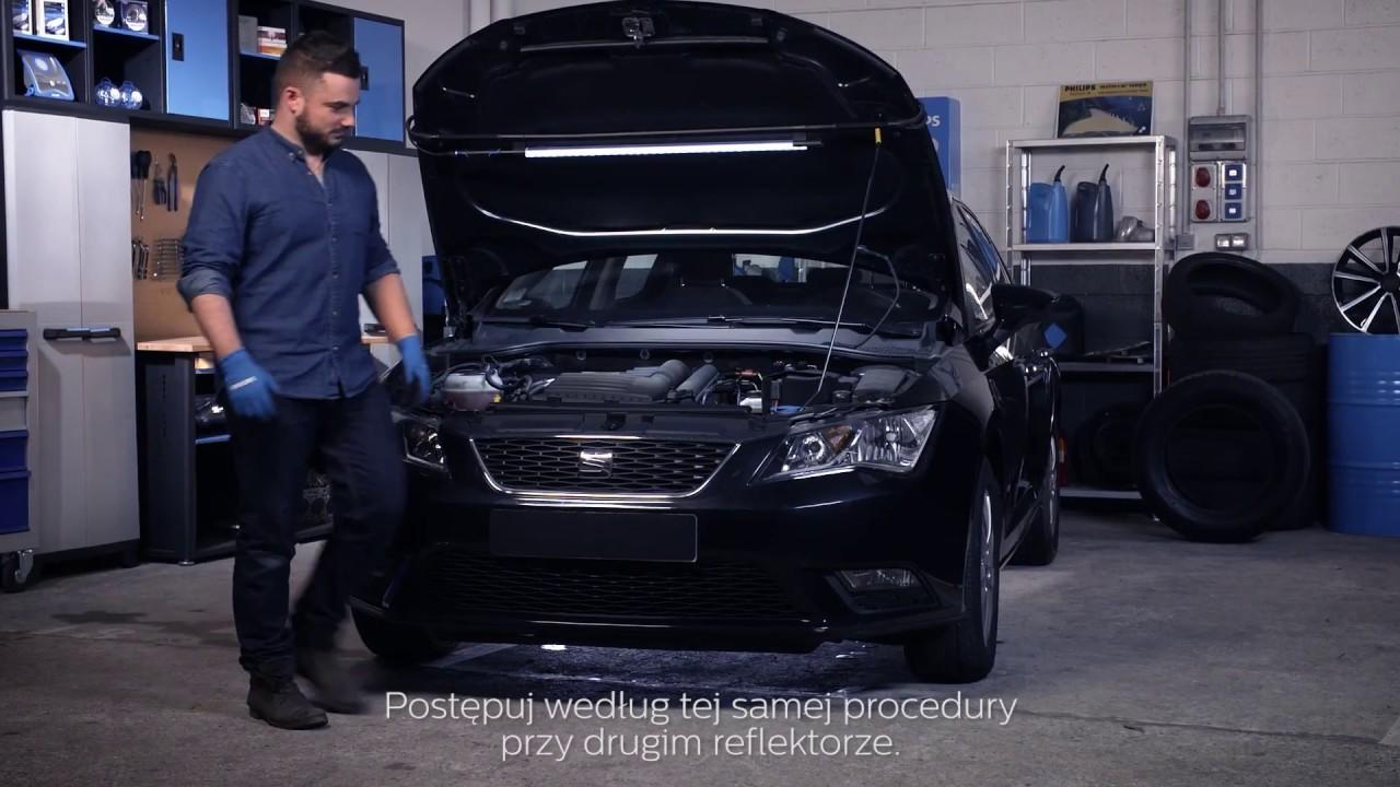 Philips Seminarium Jak Wymienić żarówki W Twoim Samochodzie Seat Leon Iii