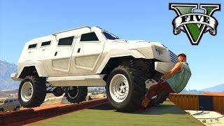 GTA V Online: PARKOUR vs INSURGENT - A PRIMEIRA BATALHA!!!