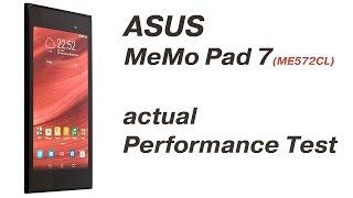 ASUS MeMo Pad 7 (ME572CL) Performance (ARGUMENT600)