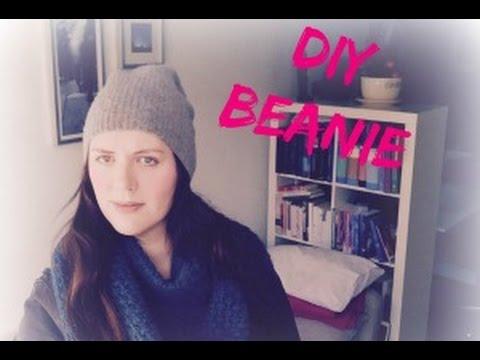 Diy Beanie Muts Van Een Oude Trui Youtube