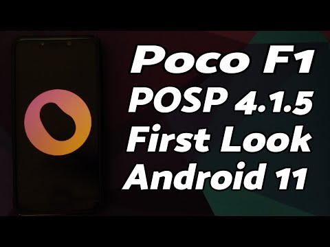 Poco F1 | Official POSP Android 11 Rom | Features | Potato Open Sauce Project