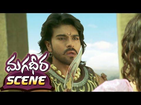 Kajal Aggarwal Proposing Her Love To Ram Charan || Magadheera Movie || Geetha Arts