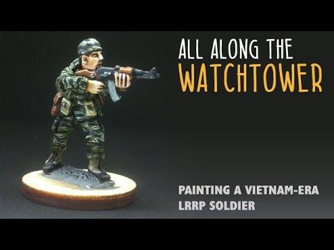 All along the watchtower: painting a Vietnam-era LRRP soldier