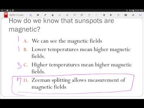 ASTR 111 Lecture 25: Solar Cycles