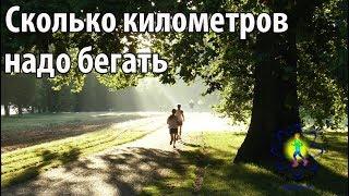 Сколько километров надо бегать