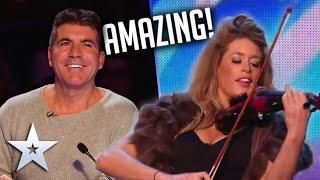 POSHEST CONTESTANT EVER plays Imagine Dragons on Violin!  | Britain's Got Talent