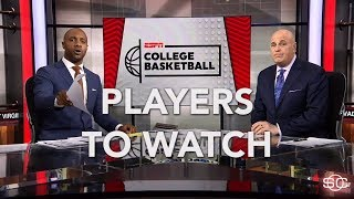 Players to watch for 2018 NCAA tournament | SportsCenter | ESPN
