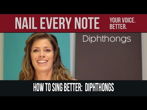 how to sing better diphthongs youtube. Black Bedroom Furniture Sets. Home Design Ideas