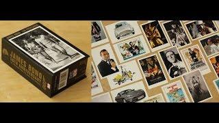 Обзор распаковка Джеймс Бонд 007 Набор Открыток / James Bond 50th Anniversary Postcards unboxing