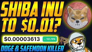 SHIBA INU to $0.01? 🌑 SHIB COIN EXPLODES on MAJOR NEWS! Price Prediction! Buy?