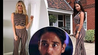 TOWIE's Danielle Armstrong and Yazmin Oukhellou plug same outfit