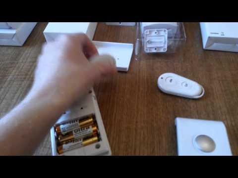 batteridrivet gsm larm