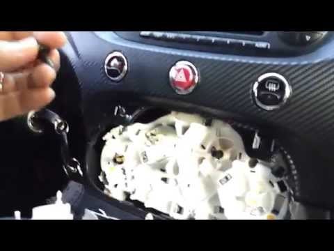 2012-2017 FIAT 500 Dashboard Removal Tutorial