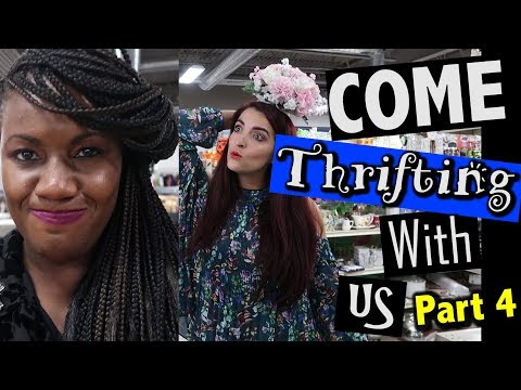 BRIC -A-BRAC Goodwill WE STILL HERE |Come Thrifting With Us Part 4|#ThriftersAnonymous