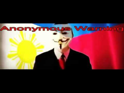 DUTERTE Anonymous Supporters Will Take Down Government if Mar Roxas Will Win For President 2016