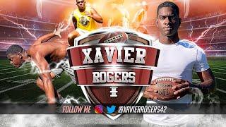 Xavier Rogers - 2021 Rocky River Football Sr. Highlights (Charlotte, NC): Part 2