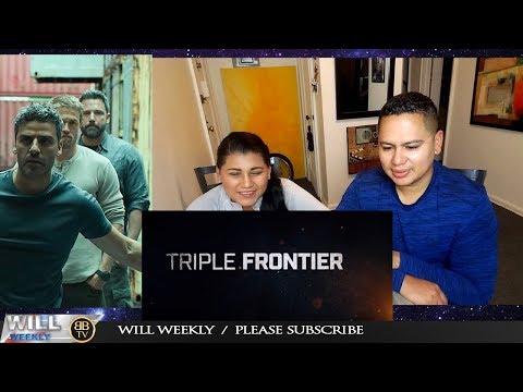 Triple Frontier Trailer REACTION