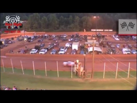 Dirt Track Racing - August 3rd 2013 - Modified Hobby Race From Winder Barrow Speedway