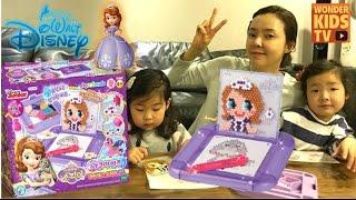 리틀프린세스 소피아 공주 아쿠아 비즈 컬러비즈 소피아공주 만들기(toy) (aqua beads)