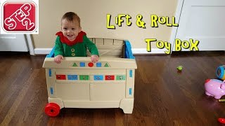 Step2 Lift & Roll Toy Box Unboxing