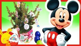 Oeufs Surprises de couleurs - Mon beau Sapin de Noël - Mickey, Minnie - Touni Toys Titounis