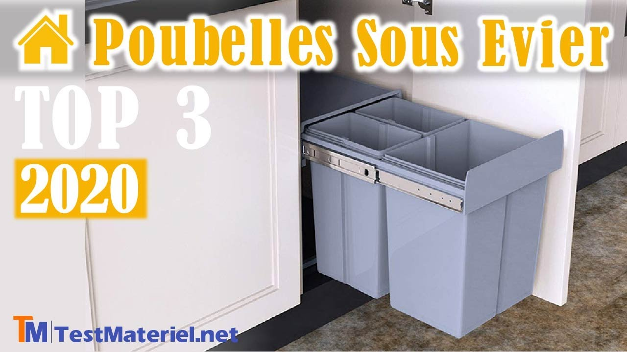 Meuble Cache Poubelle Interieur ??➤ meilleure poubelle sous evier - mes tests et comparatifs!