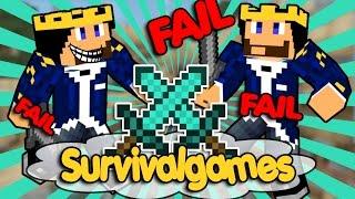 MENSCHLICHES VERSAGEN - Survivalgames ✯ Minecraft PvP #003 - CoRRoNa