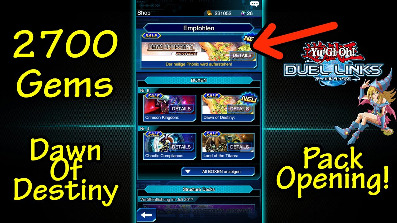 how to get gems duel links