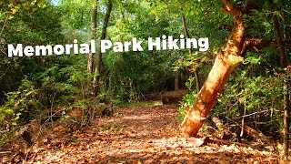 Hiking Memorial Park in Houston, Texas