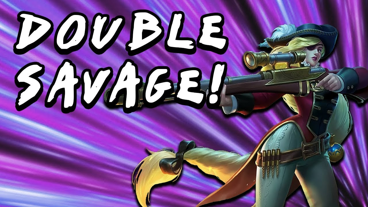 DOUBLE SAVAGE | LESLEY DAMAGE IS INSANE! | Mobile Legends