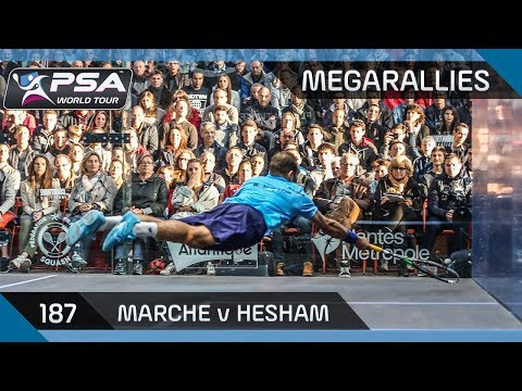 """One of the best rallies I've ever seen!"" - MegaRallies #187 - Marche v Hesham"