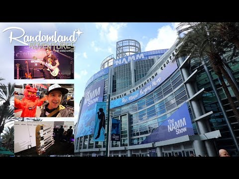 The NAMM show 2018 - EPIC and WEIRD music convention!