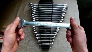 Набор ключей комбинированных INTERTOOL HT-1205