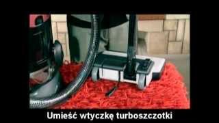 FAKIR - WIR Odkurzacz z filtrem wodnym, odkurzacz wodny kraków.flv