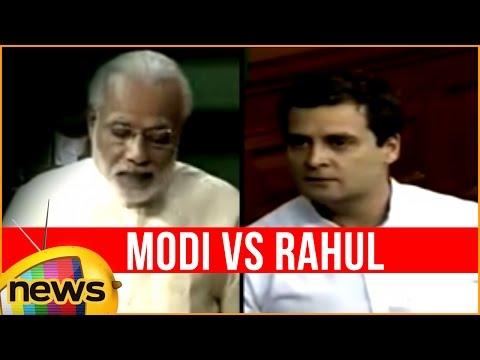 Rahul Gandhi Makes Fun of Make in India Logo | Rahul Gandhi Vs Narendra Modi | LokSabha | Mango News