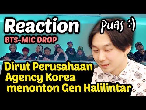 Video Reaksi Dirut Perusahaan Agensi : Gen Halilintar  - Mic Drop