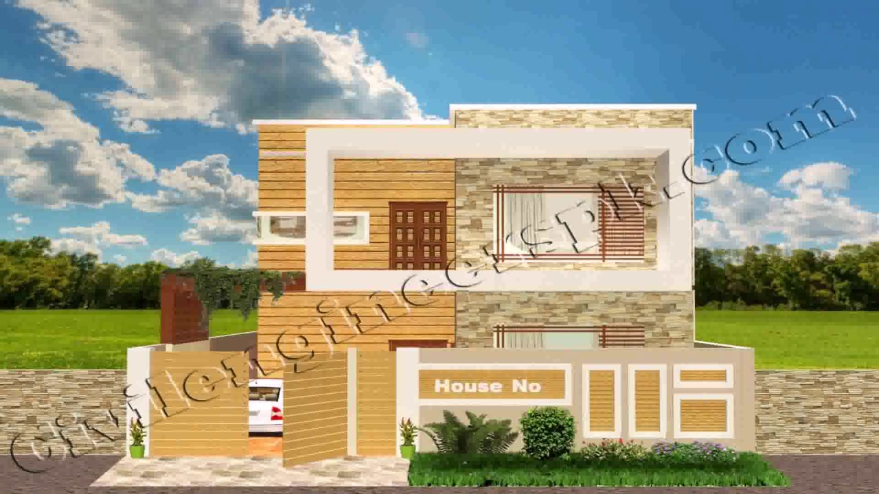 7 Marla House Map Design Pakistan YouTube