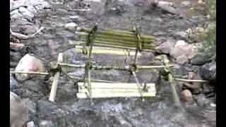 Fabrication d'un petit moulin à eau - BlogNature.fr