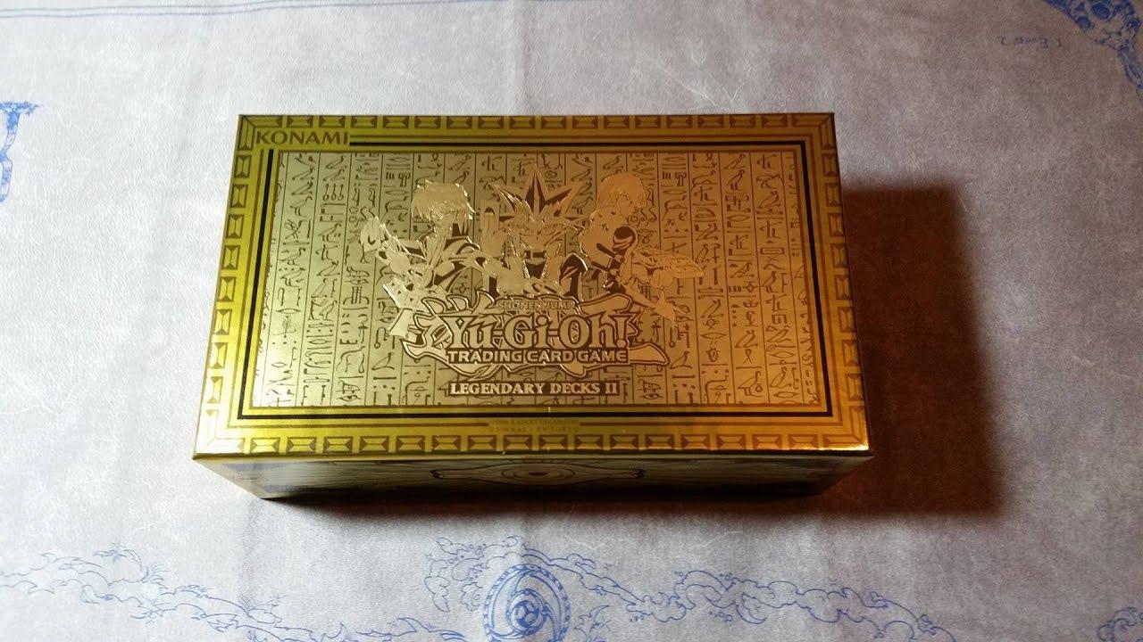 Yugioh Yugi, Kaiba, & Joey's Legendary Decks II Box Opening!!!
