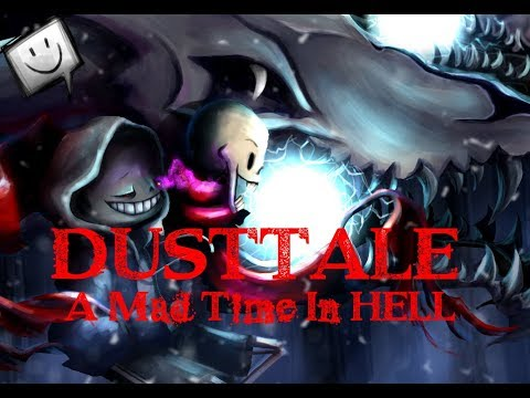 DUSTTALE A Mad Time In HELL [Red Megalovania] (Gaming Nightmare Remix) ORIGINAL VIDEO