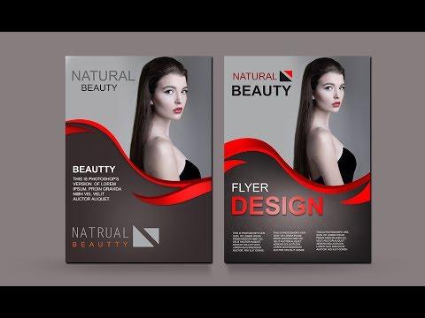Print Design - Corporate Flyer Photoshop Tutorial